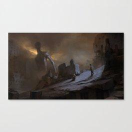 Careless Stalkers Canvas Print