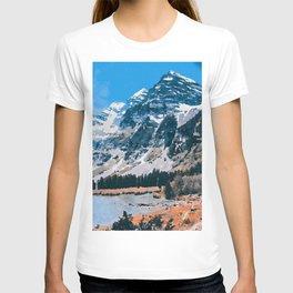 The Wonderful Maroon Bells T-shirt