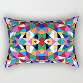 Kaleidoscope III Rectangular Pillow