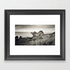 ... L'île du bout du Monde ... Framed Art Print