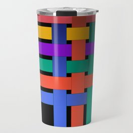 Braiding ribbons Travel Mug