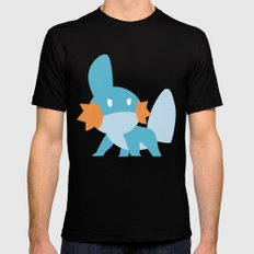 Mudkip Mens Fitted Tee LARGE Black