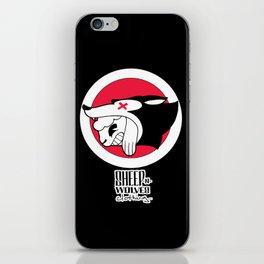 Sheep-n-Wolves Clothing iPhone Skin