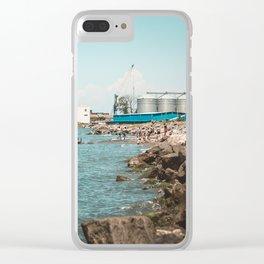 Landscape photo - sea port Clear iPhone Case