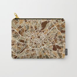 Manchester England Street Map Carry-All Pouch