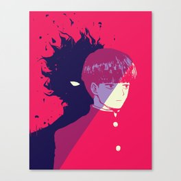 Shigeo Kageyama - Mob Psycho 100 Canvas Print