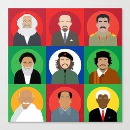 Revolutionaries persons.  Canvas Print