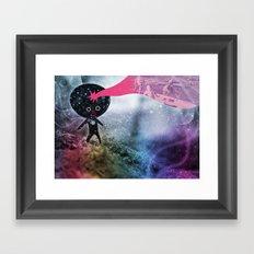 Mi SCoPPIa La TEsTa Framed Art Print