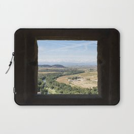 Peek Through Landscape in Basque Country, Spain - Fine Art Photo Print Laptop Sleeve