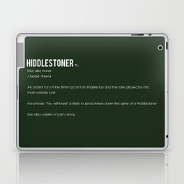 Hiddlestoner Laptop & iPad Skin