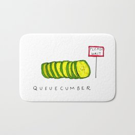 Queuecumber Bath Mat