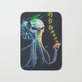 The Squid 2. ( Neon corp. Underwater series). Bath Mat