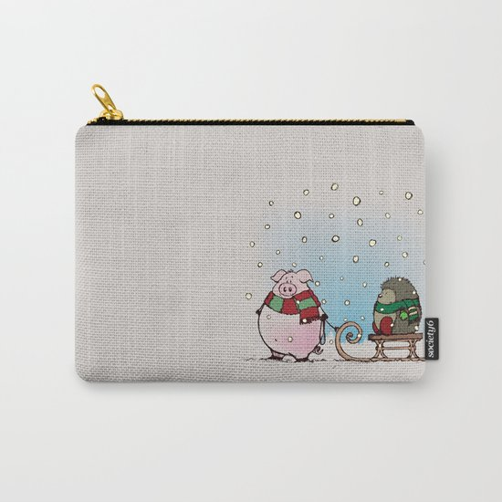 Winter fun Carry-All Pouch