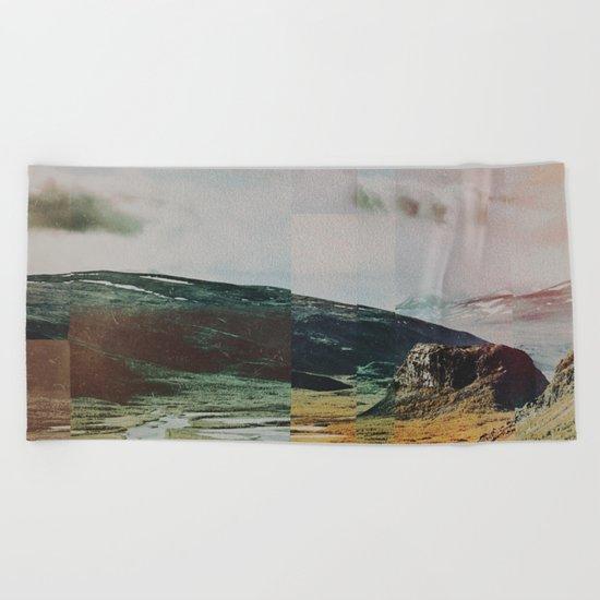 Fractions A97 Beach Towel
