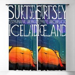 Surtsey Island Iceland,Estmannaeyjar archipelago. Blackout Curtain