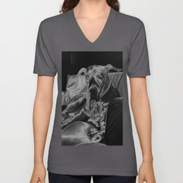 TAMIS - GREAT DANE Unisex V-Neck
