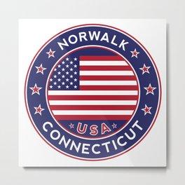 Norwalk, Connecticut Metal Print