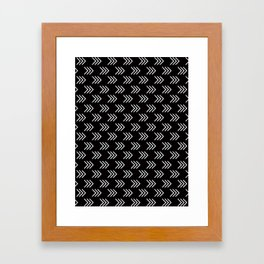 Arrows Framed Art Print