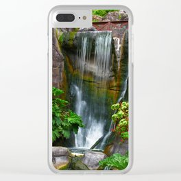 Waterfall in Golden Gate Park Clear iPhone Case