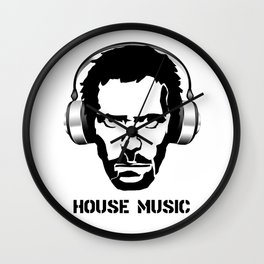 Dr House Music Wall Clock