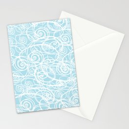 Drizzle & Fog - blue too Stationery Cards