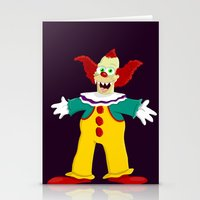 pennywise Stationery Cards featuring Krusty by Fransisqo82