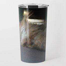 I Bare My Teeth At Those Who Sneer Travel Mug