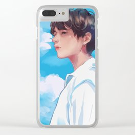 Taehyung FAKE LOVE Clear iPhone Case
