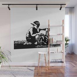 Slave Labour - Banksy Wall Mural
