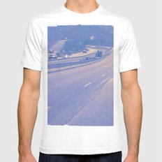 Road trip! Mens Fitted Tee White MEDIUM