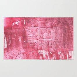 Cinnamon Satin abstract watercolor Rug