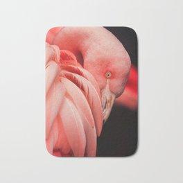 Shy Flamingo Bath Mat