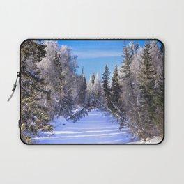 Frozen river Laptop Sleeve