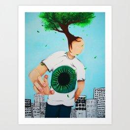 Treeman Art Print