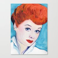 Lucy, I love Canvas Print