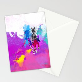 polo abstract Stationery Cards