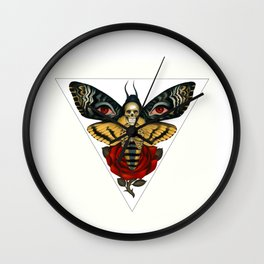 Death From Above Wall Clock