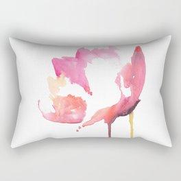 Floral love Rectangular Pillow