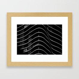 Aqua I Framed Art Print