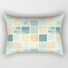 Squares-Light  Rectangular Pillow