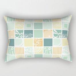 Squares-Light  Rectangular Pillow