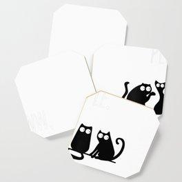 Womens Ewww People Cat Lovers Tshirts Novelty Gifts Men Women Kids V-Neck T-Shirt Coaster