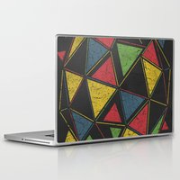 techno Laptop & iPad Skins featuring Techno by Sitchko
