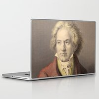 beethoven Laptop & iPad Skins featuring Beethoven by Palazzo Art Gallery