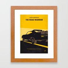 No051 My Mad Max 2 Road Warrior minimal movie poster Framed Art Print