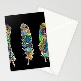 mandala vintage feathers 2 Stationery Cards