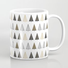 MODERN CHRISTMAS TREES Coffee Mug