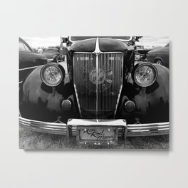 Hot Rod Mama Grill Metal Print
