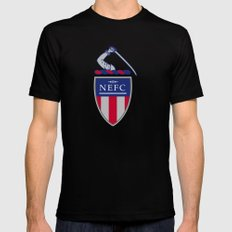 NEFC (English) Black Mens Fitted Tee X-LARGE
