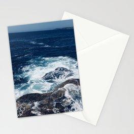 Waves hitting rocks, Clovelly Beach, NSW, Australia Stationery Cards